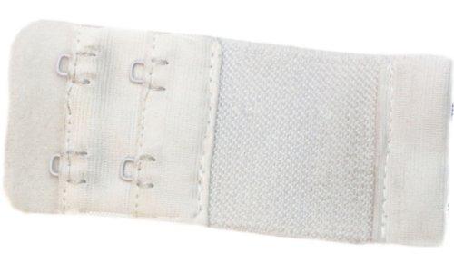 Fashion4Young BH Verlängerung um bis zu 10,5 cm mit Haken BZW. Ösen - einfache Handhabung Absolute Neuheit in Weiss!