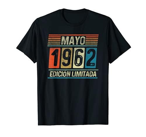 Mayo 1962 Vintage - 59 años Regalo Cumpleaños Hombre Camiseta