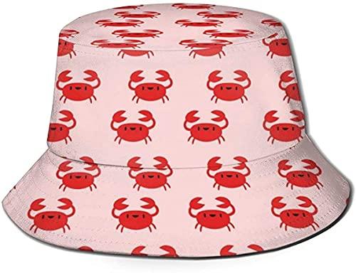 balderdash01 Bucket Hats Unisex Rosa Crema Frosting Bucket Hat Summer Fisherman's Hat-Pink Cream Frosting-One Size Flat Top Transpirable
