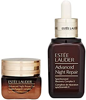 Estee Lauder Advanced Night Repair Synchronized Recovery Complex II for Face and Eyes Supercharged Complex 1 Set