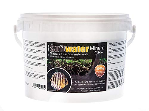 SALTYSHRIMP - Softwater Mineral GH+, 3000g