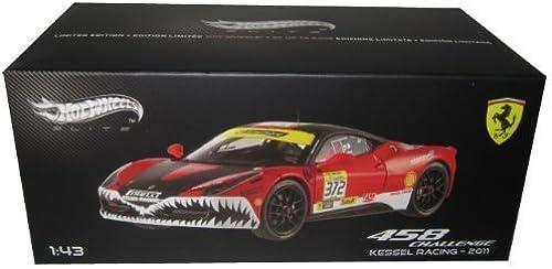 Ferrari 458 Italia Challenge  372 Kessel Racing 2011 Elite Edition 1 43 by Hotwheels X5506 by Hot Wheels