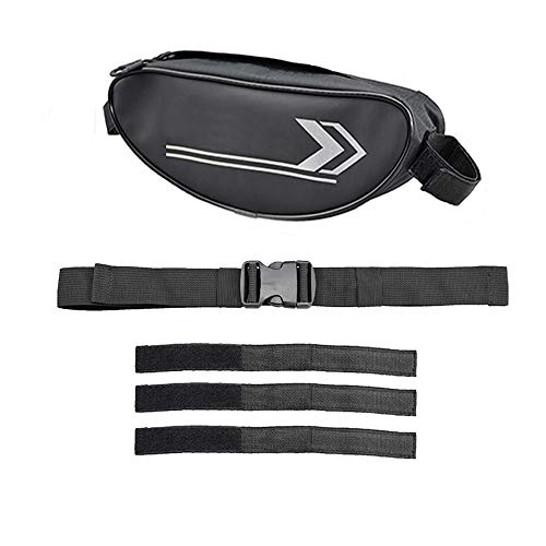 Lenkertasche Motorrad Gabel Tasche Leder Multifunktionale Schulter Reisetasche
