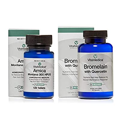 VitaMedica Arnica + Bromelain Bundle, 10 Day Supply