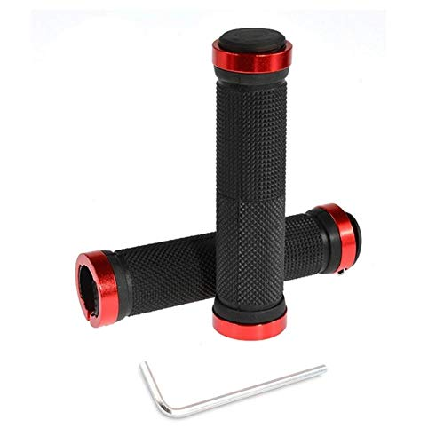 FICI 2 st Comfortabele Grip Fiets Rubber Handvat Vervanging Bar Fiets Handvat Bar Stuur Fiets Grips benodigdheden