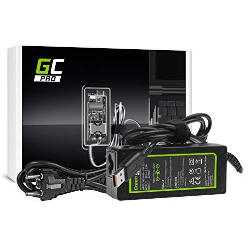 GC Pro Cargador para Portátil Lenovo Yoga 900-13ISK 900-13ISK2 700-11ISK 80QE 700-14ISK 80QD Ordenador Adaptador de Corriente (20V 3.25A 65W)