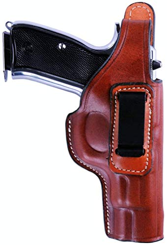KoHolster Concealed Carry IWB Gun Holster for Sig P320|4.7 inches|Genuine Leather|Right Hand|Brown