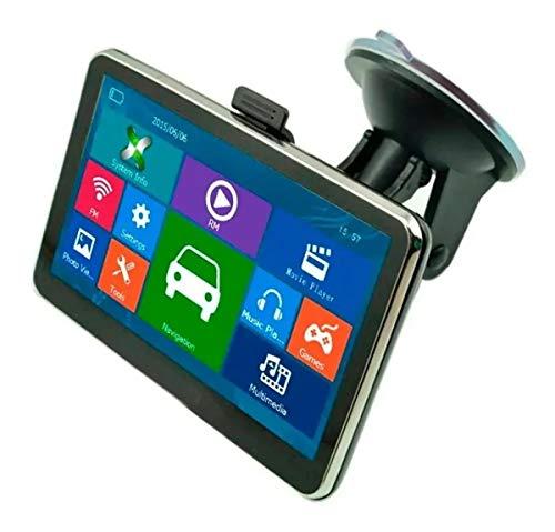 FRALUGIO Navegador GPS para Auto Multifuncional con Pantalla Táctil sin Necesidad de Datos móviles
