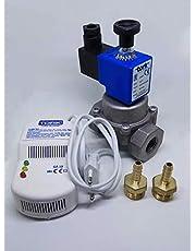 Gaz Alarm + 1/2'' Selenoid Vana LPG için Güvenlik Seti