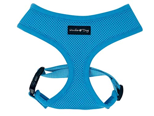 Dog Puppy Mesh Adjustable Harness for Small Breeds (Small 13-16