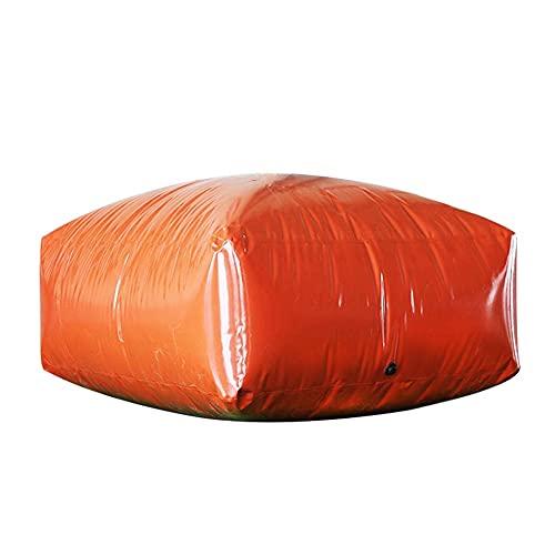 SHIJINHAO Contenedor Portador De Agua De Gran Capacidad para Exteriores, Tanque De Almacenamiento De Agua De Emergencia Portátil Resistente A La Sequía (Color : Orange, Size : 240L/1x0.6x0.4M)