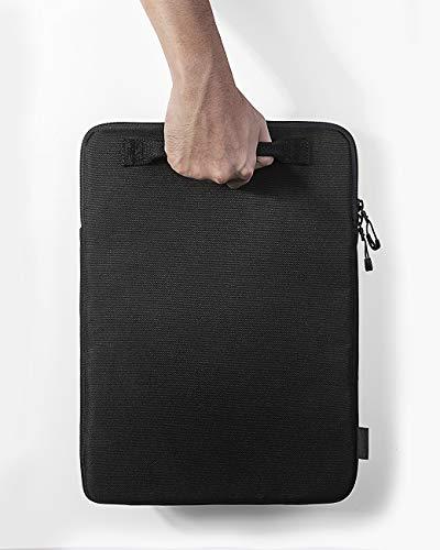 tomtoc 360-Grad-Schutz-Laptophülle für 38,1 cm (15 Zoll) MacBook Pro mit USB-C A1707 A1990, wasserdichtes Cordura-Gewebe für Dell XPS 15 Laptop, ThinkPad X1 Yoga (1–4. Generation) Chromebook
