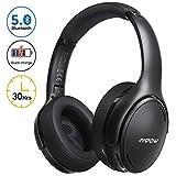 Mpow H19 Cuffie Noise Cancelling, Cuffie Bluetooth 5.0, Cuffie Wireless Ricarica Rapida, Autonomia 30 Ore, Cuffie Cancellazione Rumore Suono Hi-Fi, Cuffie Riduzione del Rumore Per Cellullari/PC/TV