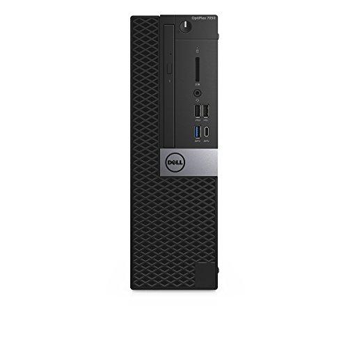 Dell Optiplex 7050 3,6Ghz 7ª Generación de Procesadores Intel Core I7 I7-7700 Negro Sff Pc - Ordenador de Sobremesa