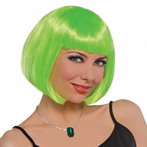 Ladies Green Bob Wig St Patricks Day Leprechaun Irish Fancy Dress Rugby Ireland Eire Nations by WeCostLess