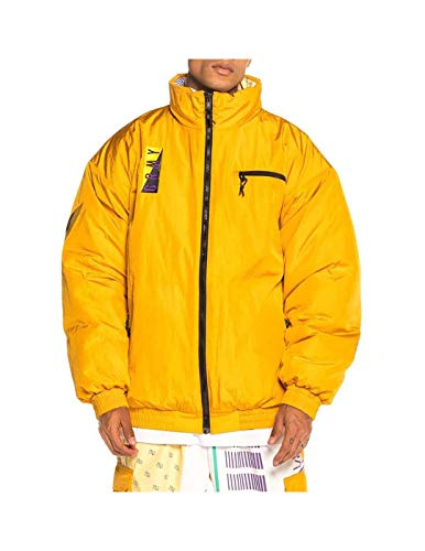 GRIMEY Chaqueta Puffy Alienation 1977 Reversible FW19 Mustard-S