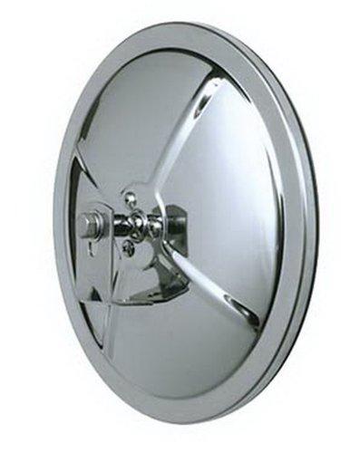 "CIPA 48852 Round 8.5"" Convex HotSpot Mirror, stainless"