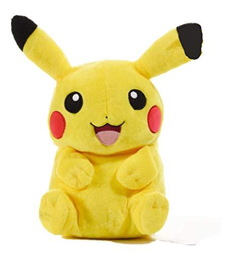Pikachu Tasche Kinderrucksack Kindergarten Baby Plüsch Rucksack Bikachu Jungen und Mädchen Rucksack