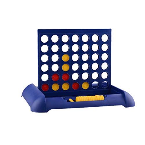 TOYANDONA 1 St 3D Jeu de Societe Puissance 4 Jeu de Stratégie Educatief Speelgoed Hersenen Speelgoed Ouder-Kind Interactief Bordspel Jeu de Société Famille