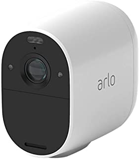 Arlo Technologies Essential Spotlight Camera - Wire-Free, 1080p Video, Color Night Vision, 2-Way Audio, Motion Activated, ...