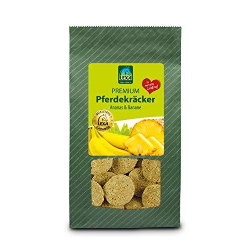 Lexa Premium Pferdekräcker Ananas & Banane-1,0 kg Beutel