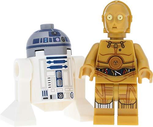 LEGO Star Wars R2-D2 & C-3PO - Juego de 2 minifiguras