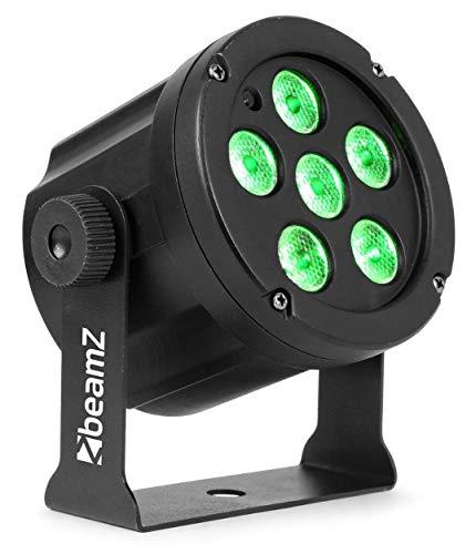 BeamZ SlimPar30 compacte RGB LED PAR Spot met Afstandsbediening, Voorgeprogrammeerde Programma's, Geluidsgestuurd, Auto…