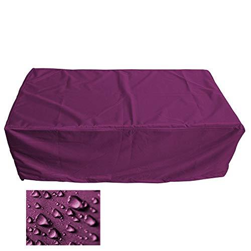 Holi Europe Premium Table de Jardin rectangulaire Housse de Protection Couverture Revêtement bâche de Protection (L 230cm x L 130cm x H 80cm, Bordeaux)