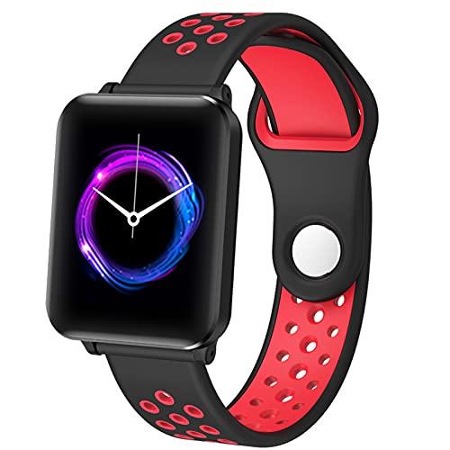 APCHY Smart Watch Reloj Inteligente,1.3'Rastreador De Fitness De Pantalla Táctil con Ritmo Cardíaco Monitor De Sueño Y Reloj Deportivo Impermeable IP68, Rastreadores De Actividades con Contador,C