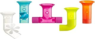 Boon Building Bath Pipes Toy, Set of 5, Multicolor