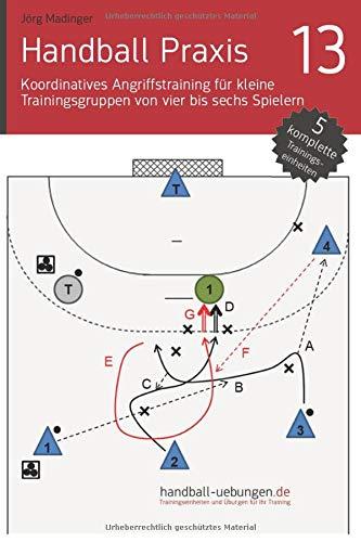 Koordinatives Angriffstraining für kleine Trainingsgruppen von vier bis sechs Spielern (Handball Praxis, Band 13)