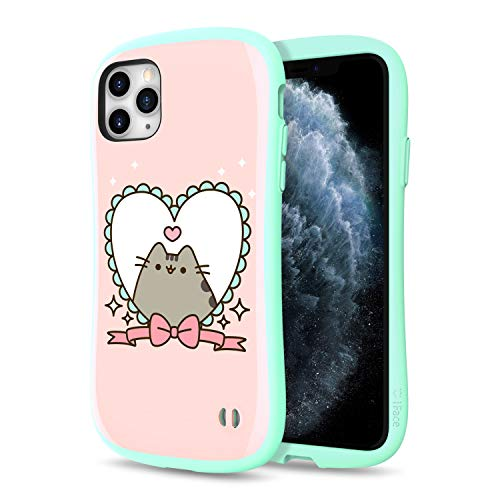 iFace x Pusheen The Cat First Class Series iPhone 11 Pro Max Case – Cute Dual Layer [TPU and Polycarbonate] Hybrid Shockproof Protective Cover [Drop Tested] - Pusheen (Heart Frame)