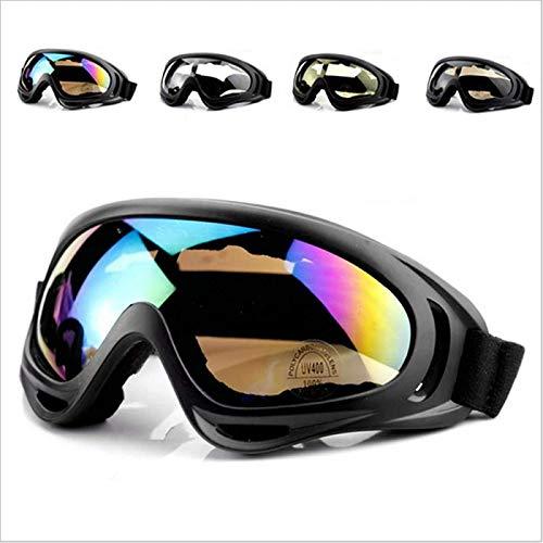 ZHANG Gafas De Esquí Gafas De Seguridad Snowboard Moto De Nieve Gafas Antivaho Gafas De Sol Hombres Mujeres Gafas De Esquí,B