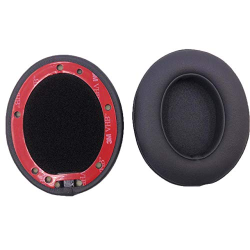 Replacement Soft Memory Foam Ear Pads Cushion for Beats studio 2.0 studio 3.0 Headphones fit perfectly 23 AugT7,Grey