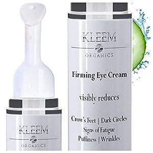 Crema Hidratante Antiarrugas Ojos para Ojeras e Hinchazón - Tratamiento Contorno de Ojos que Reduce las Bolsas Patas de Gallo Líneas de Expresión y Ojos Hundidos en 4 SEMANAS para Hombre y Mujer