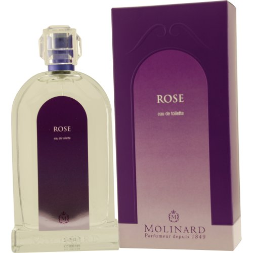 MOLINARD Paris ROSE Eau de Toilette Spray 100 ml