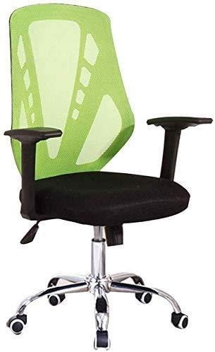 Silla de oficina Sillas de escritorio de oficina Silla de conferencia duradera | Silla de computadora multifuncional con soporte lumbar | Silla de escritorio giratorio | Capacidad de alto rendimiento