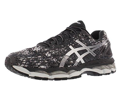 ASICS Men's Gel Nimbus 17 Running Shoes (9.5 D(M) US, Stone/Lightning/Onyx)