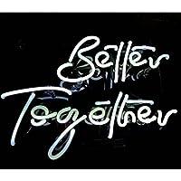 ネオンサイン (Better Together)(Love)ネオン 看板 ネオン管 NEON LIGHT SIGN Bar ネオンライト インテリアバー ディスプレイ 店舗用標識・サイン アメリカン雑貨クラブ 喫茶店 広告用看板 クラブ及び娯楽場所等