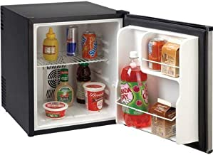 Avanti Products SHP1712SDC-IS Compact AC/DC 1.7 cubic foot Refrigerator, feet, Stainless Steel