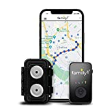 Family1st Mini GPS Tracker for Vehicles – Hidden Tracking Device for Cars, Trucks and Motorcycles with Long Lasting Li-Po Battery with Dual Magnet Weatherproof Case (Monthly Fee Required)