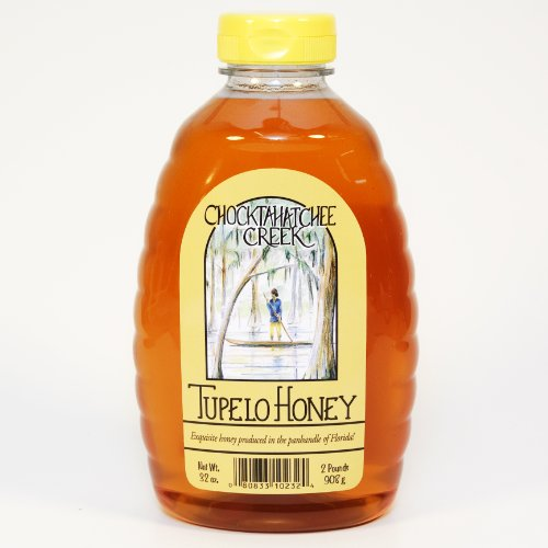 Tupelo Honey 32oz  2 pound Two pound Jar from Sleeping Bear Farms Beekeepers in the Florida Apalachicola River Basin