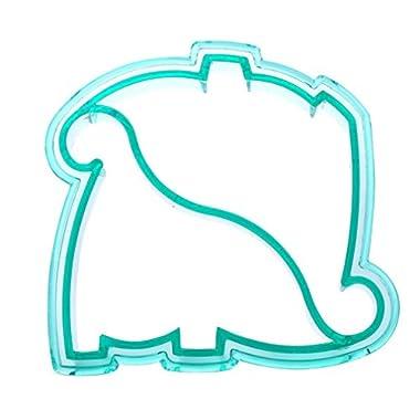 Vipe Kids DIY Lunch Sandwich Cake Bread Cutter Mold Dog Elephant Dinosaur Shape Mould Maker (Dinosaur)