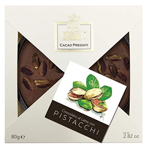 Slitti Mini Tortina Cioccolato al Latte e Pistacchi di Bronte - 3 Pacchi da 80 g