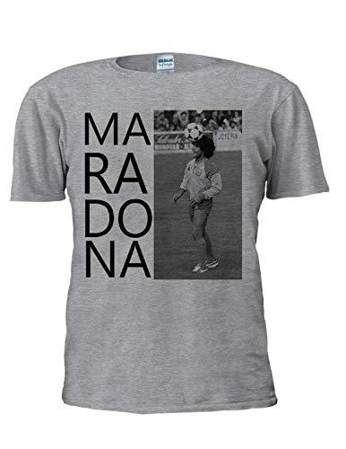 Maradona Camiseta Armando Diego Football Tee Sport Legend Argentina World Cup Hombres...