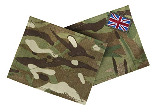 Genuine Issue British Army MTP - Juego de 2 placas de ciego...