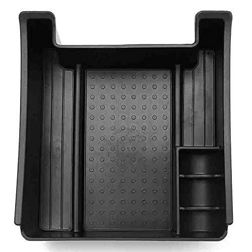 AXYP Car Apoyabrazos Caja Almacenamiento, para Volvo XC60 V60 S60 2009-2014 Armrest Antideslizante Doble Capa Consola Central Organizador Bandeja, Coche Central Storage Box Estilo Accesorios