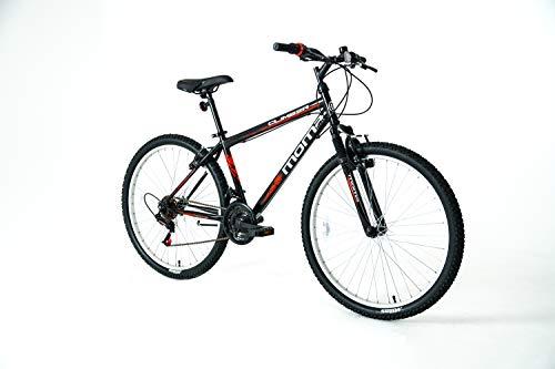 Moma Bikes S-M Climber Fahrrad, Erwachsene, Unisex, Schwarz, normal