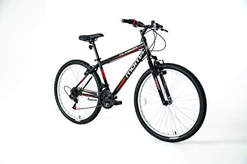 Moma Bikes S-M Bicicleta Climber, Adultos Unisex, Negro, Normal