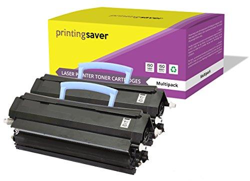 Printing Saver BLACK (2) toners compatible with DELL 1700, 1700n, 1710, 1710n, InfoPrint 1412, 1412n, 1512, 1512n